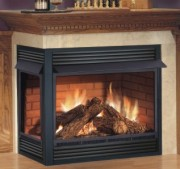 North Halton Heating Fireplace image