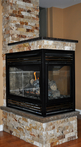 North Halton Heating Fireplace